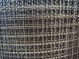Сетка тканая нержавеющая с квадратными ячейками 10,0х1,0х100