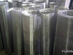 Сетка тканая низкоуглеродистая 4,0х0,6 рифл.