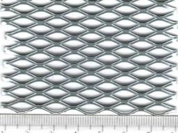 Просечно-вытяжная сетка 10х25 0,5 мм оц
