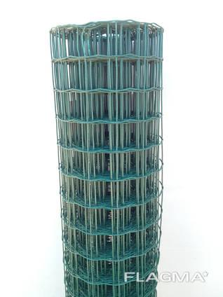 Сварная сетка в рулоне ПВХ 50х50 L=2,0м 10м. п.