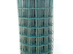Сварная сетка в рулоне ПВХ 50х50 L=2, 0м 10м. п.