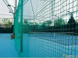 Сетка защитная заградительная для спортивных залов площадок