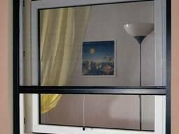 Сетки на окна от комаров. Москитные сетки. Сетка на двери