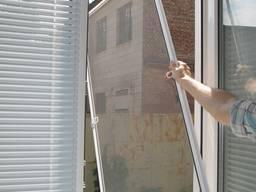 Москитные сетки на окна и двери, сетки антикошка в Буче,