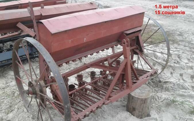 Сеялка зерновая 1,5-3,0 м Польша б/у