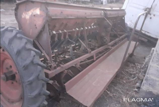 Сеялка Сз-3.6 на запчасти или под ремонт
