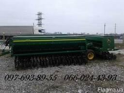 Сеялка зерновая Джон Дир 455