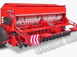 Сеялка зерновая механическая 5 метров рабочая ширина захвата