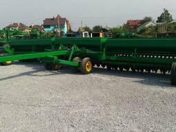 Сеялка зерновая механическая Джон Дир-10,7 м. (John Deere)