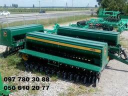 Сеялка зерновая механическая Джон Дир-10,7 м. (John. ..
