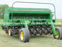 Сеялка зерновая механическая Джон Дир John Deere 750 из США - photo 4