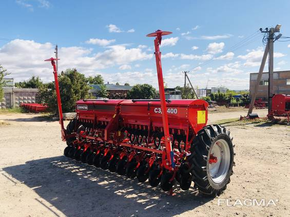 Сеялка зерновая СЗ - 400.03 редукторная ( в комплекте прикатка)