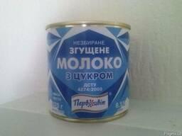 Сгущенное молоко (ГОСТ, ТУ)