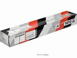 Шаблон для розмітки отворів Т-подібний YATO 250 мм + чохол