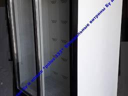 Холодильник вітринний двохдверний для квітів бу новий 1400л