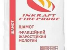 Смеси огнеупорные, порошок шамотный 0-2 мм
