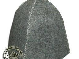 Шапка для бани и сауны, вышивка на банных шапках логотипов