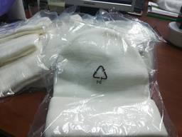 Шапка зимняя белый цвет теплые белые шапки