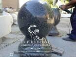 Шар гранитный, шар из натурального камня - фото 1