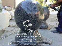 Шар гранитный, шар из натурального камня