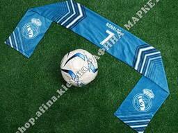 Шарф из кашемира Ronaldo 7 Реал Мадрид Blue Шарф 2550