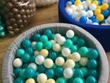 Шарики для сухих бассейнов, для лабиринта, мячики, кульки - фото 6