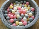 Шарики для сухих бассейнов, для лабиринта, мячики, кульки - фото 5