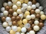 Шарики глянцевые, перламутровые, мячики для бассейна, кульки - фото 6
