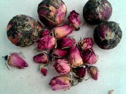 Шарики. Иван чай - с цветом чайной розы.