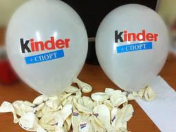 Шарики с логотипом, печать на воздушных шарах