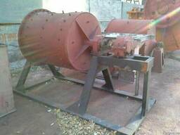 Шаровая барабанная мельница 1000х1000 мм