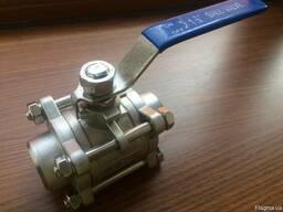 Шаровый кран СС - AISI 304 3-составной DN 20, 25, 32