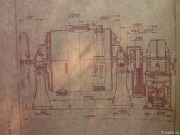 Шаровые мельницы объемом 0,4м3, 3м3, 5м3