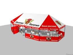 Шатры палатки для выставок и торговли.