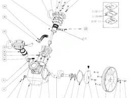 Шатун компрессора LB24