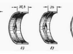 Шатунные вкладыши компрессора ПКС, ПКС-1,75