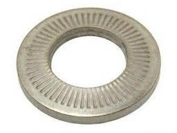 Шайба контактная рифленая тарельчатая NFE 25-511 Zn