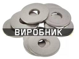 Шайба стальная плоская обычная и увеличенная, производство