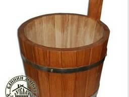 Шайки для бани и сауны, 4 литра