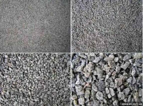 Щебень для производства тротуарной плитки 2-5, 063-2