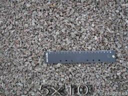 Щебень гранитный 5*10 мм.