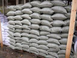 Щебень песок цемент керамзит в мешках