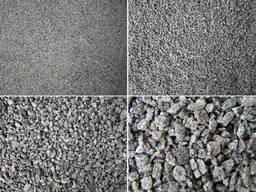 Щебень, песок, цемент продаю
