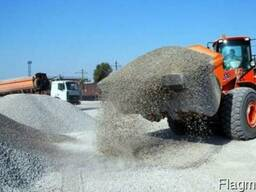 Щебень песок доставка