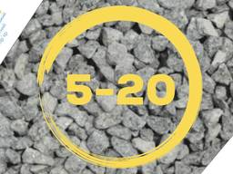 Щебень гранитный фракция 5-20мм