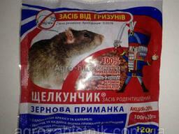 препарат Щелкунчик 120 гр от грызунов зерно