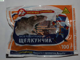 Щелкунчик - уп.100 гр. Парафінові брикети