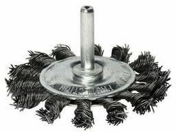 Щетка дисковая S&R 75 мм, плетенная проволока