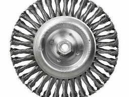 Щетка дисковая S&R, стальная плетенная проволока 200