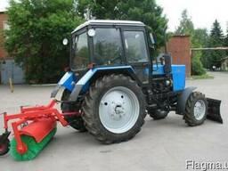 Щетка подметальная (дорожная) для трактора МТЗ производства